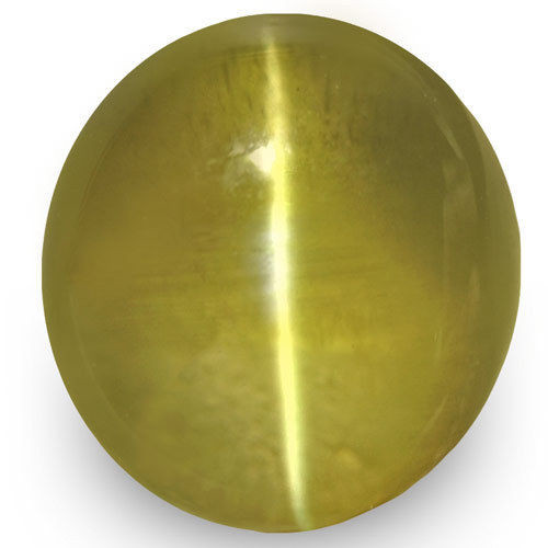 IGI Certified Sri Lanka Chrysoberyl Cat's Eye, 2.25 Carats, Oval