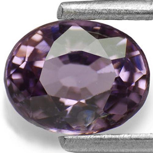Sri Lanka Spinel, 1.19 Carats, Vivid Purple Oval