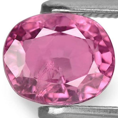 Sri Lanka Spinel, 1.42 Carats, Vivid Pink Oval