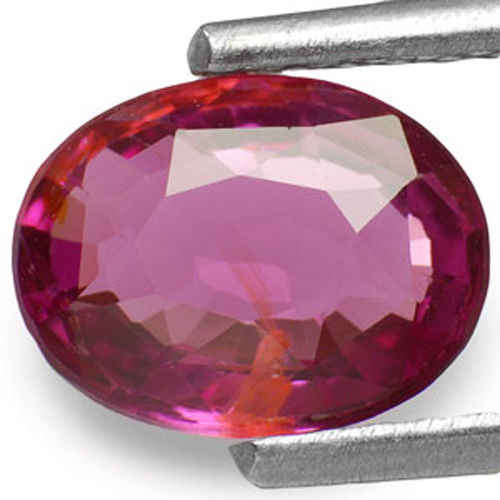 Sri Lanka Spinel, 1.32 Carats, Pinkish Red Oval