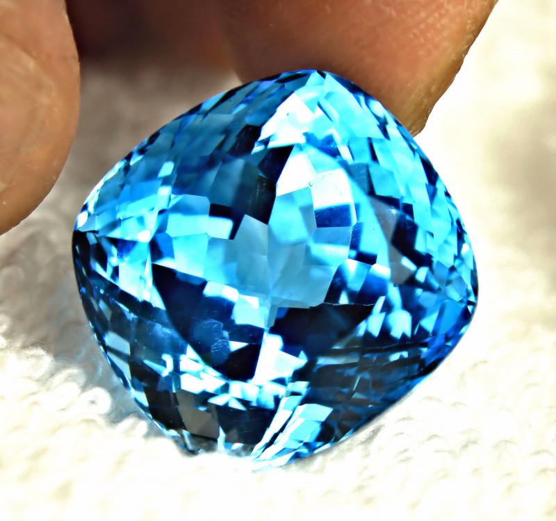 45.65 Ct. Brazil Blue VVS Topaz - Superb