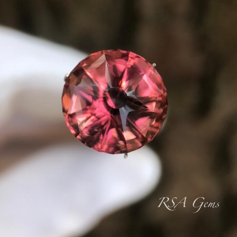 Custom Pink Tourmaline - 13.60 carats