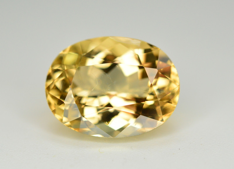 6.65 Ct Natural Peach Color Imperial Topaz