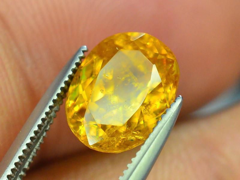 Rare AAA Fire 3.15 ct Malayaite Sphene Badakhshan