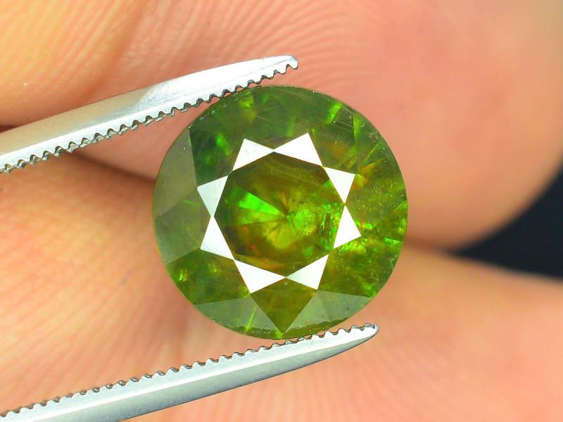 AAA Color 3.90 ct Chrome Sphene from Himalayan Range Skardu Pakistan