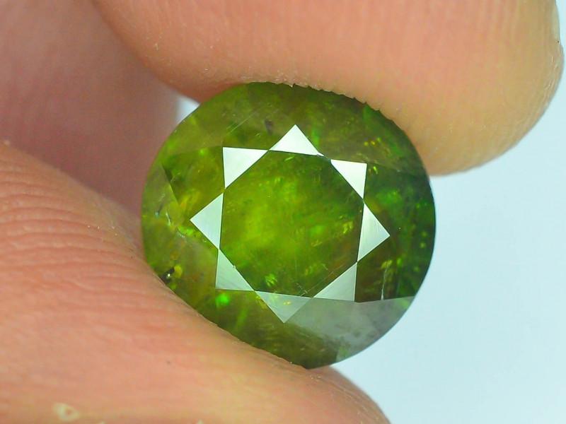 AAA Color 3.10 ct Chrome Sphene from Himalayan Range Skardu Pakistan