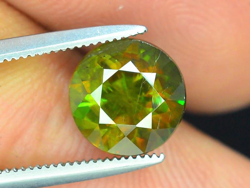 AAA Color 2.25 ct Chrome Sphene from Himalayan Range Skardu Pakistan