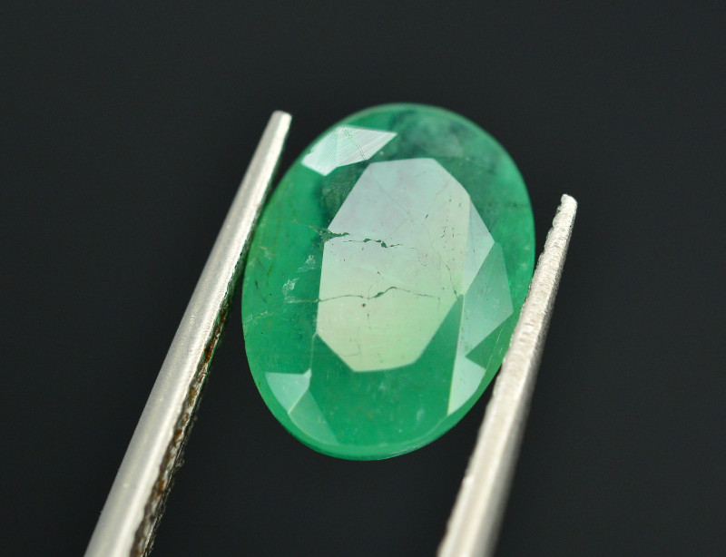 Top Quality 1.55 Ct Natural Zambian Emerald