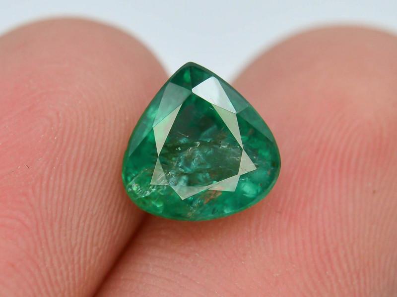 Top Color 2.15 ct Zambian Emerald