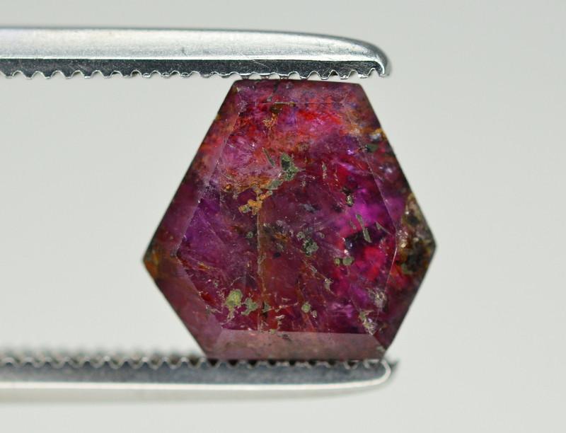 Rarest 2.50 ct Trapiche Pink Kashmir Sapphire