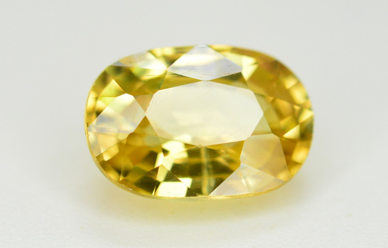 4 Ct Gorgeous Color Natural Yellow Zircon