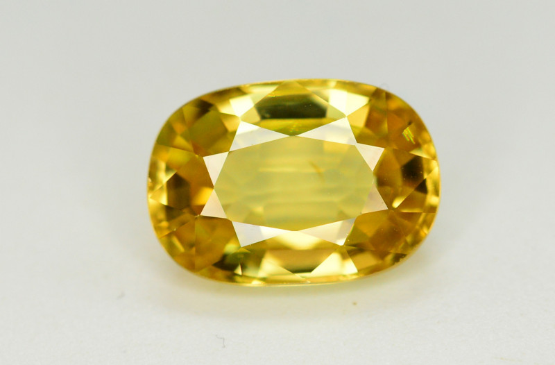 5.10 Ct Gorgeous Color Natural Yellow Zircon