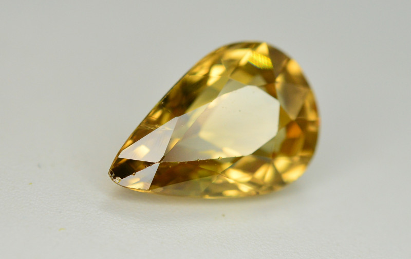 4.95 Ct Gorgeous Color Natural Yellow Zircon