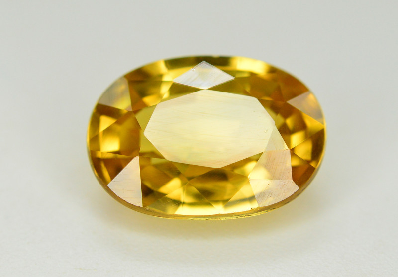 5.50 Ct Gorgeous Color Natural Yellow Zircon