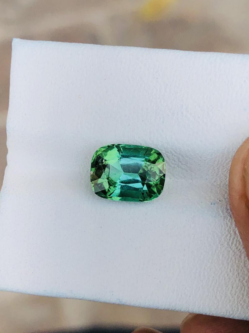 2.80 Ct Natural Greenish Transparent Tourmaline Gemstone