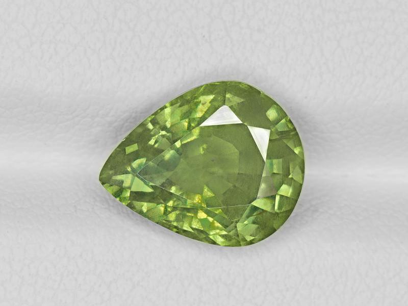 Fancy Sapphire, 5.09ct - Mined in Tanzania | Certified by GRS