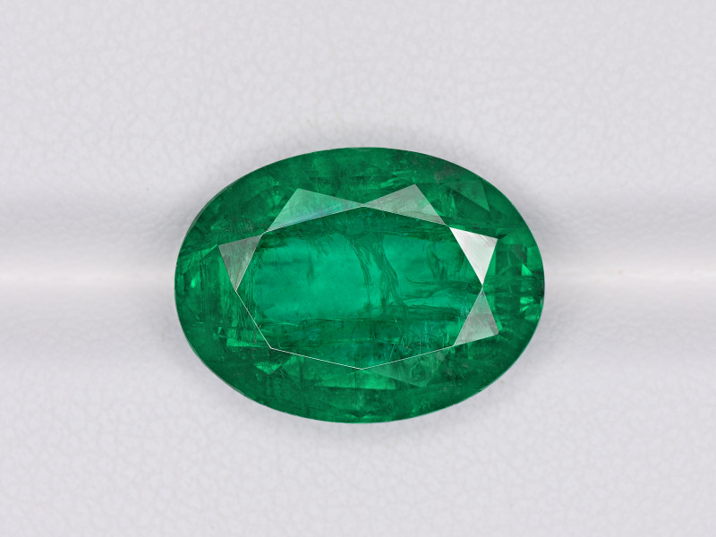 Emerald, 10.16ct - Mined in Zambia | Certified by GRS