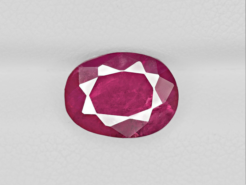 Ruby, 4.11ct - Mined in Burma | Certified by GRS