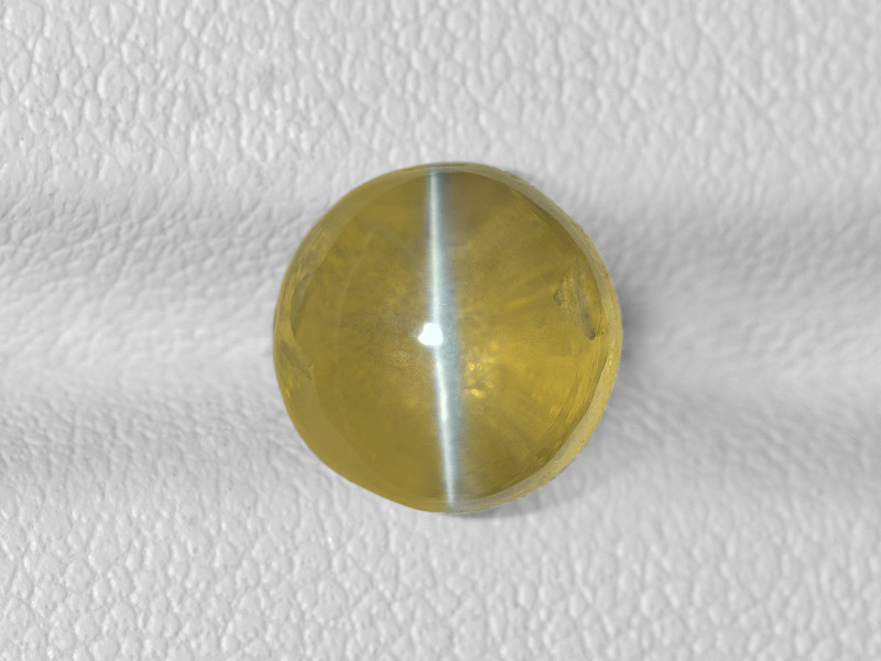 Chrysoberyl Cat's Eye, 5.03ct - Mined in India | Certified by IGI