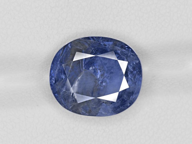 Blue Sapphire, 9.71ct - Mined in Burma | Certified by IGI