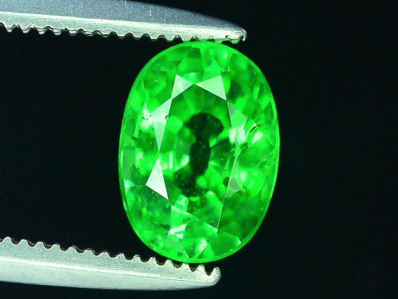 AAA Grade 1.20 ct Forest Green Tsavorite Garnet