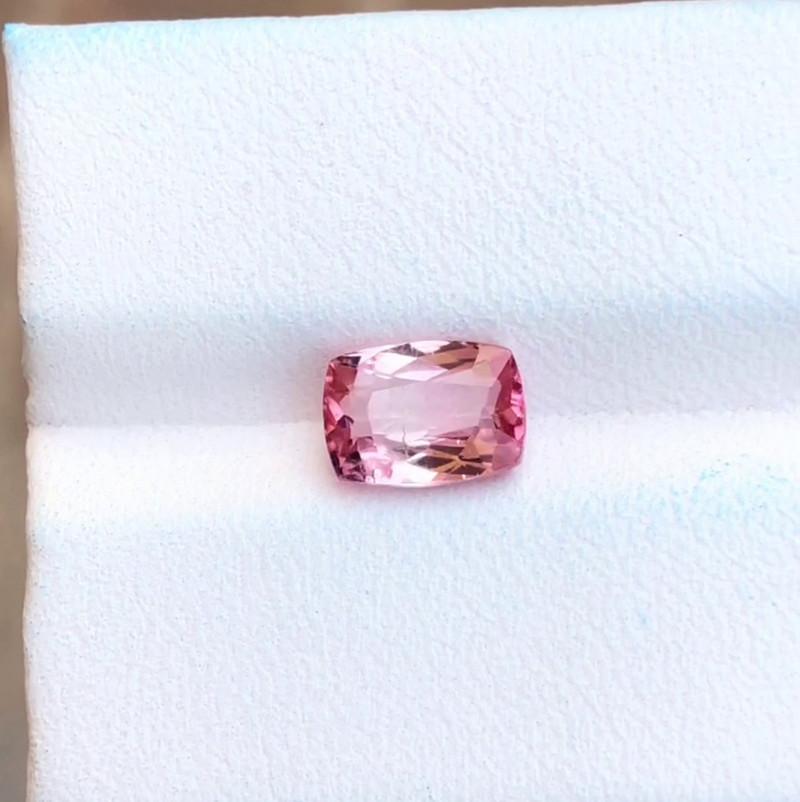 1.60 Ct Natural Pinkish Transparent Rubellite Tourmaline Gemstone