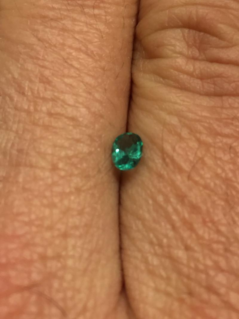 0,35ct Colombian Emerald ref 1/21 Colombian Emerald Colombian Emerald Colom