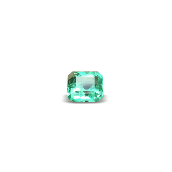 Awesome Asscher 1,66ct Colombian Emerald Ref 58/76