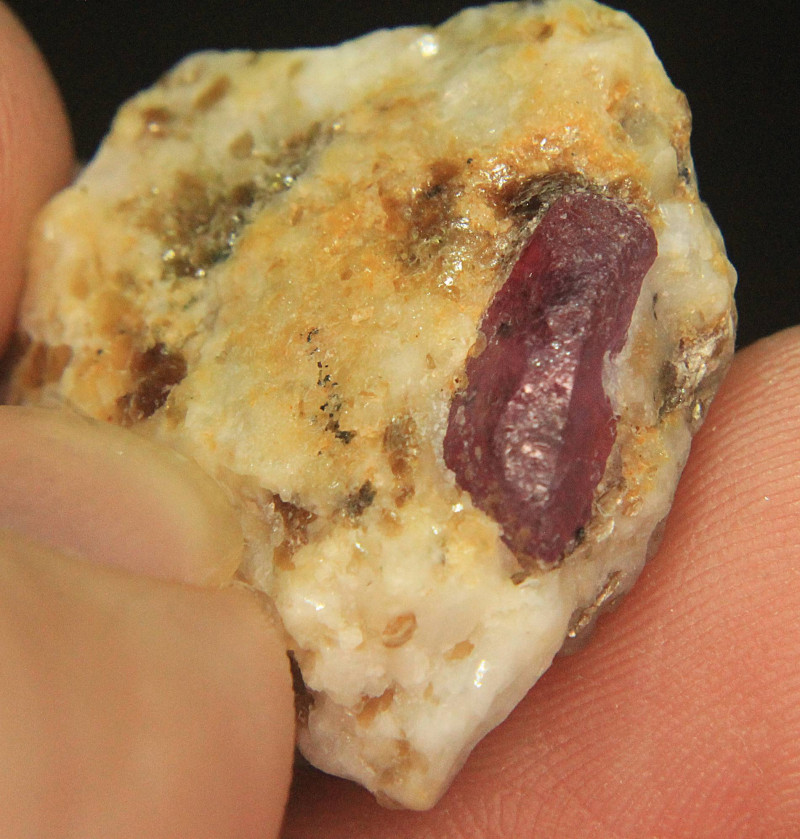 Natural Ruby Specimen From Pakistan