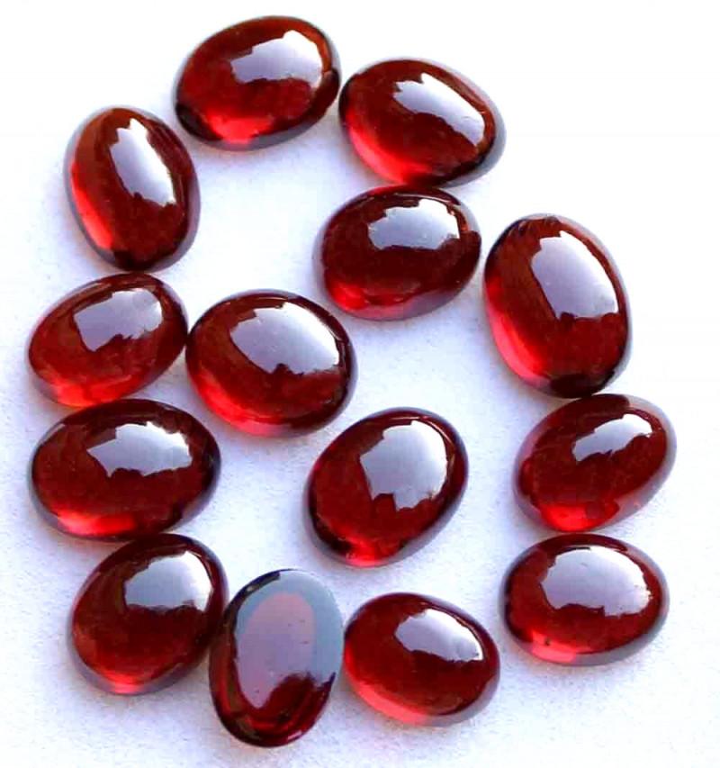 47.9 Tcw. Hessonite Garnet Cabochons - Gorgeous