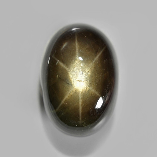 7.89 Cts NATURAL BLACK STAR SAPPHIRE LOOSE GEMSTONE