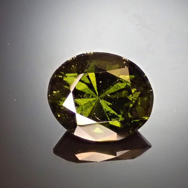 8.58ct Faceted Moldavite