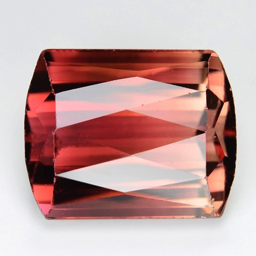 8.86 Cts Natural Pink  Color  Tourmaline   Checkerboard Cutting  Loos Gems
