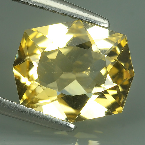 2.60 CTS FLAWLESS SPARKLING RARE NATURAL FANCY CUT CITRINE NR!!