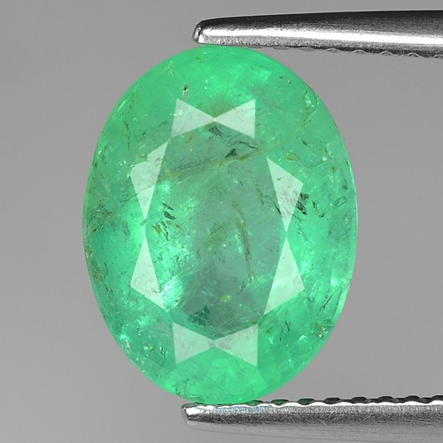 3.55 Cts Natural Earth Mined Green Color Colombian Emerald Loose Gemstone