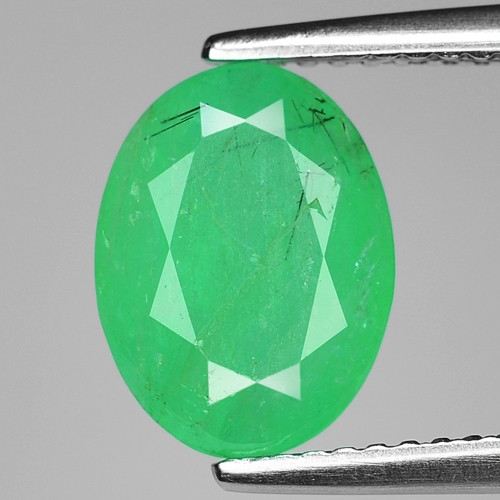 2.53 Cts Natural Earth Mined Green Color Colombian Emerald Loose Gemstone