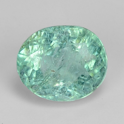 1.37 Cts GIL Certified Blue Green Natural