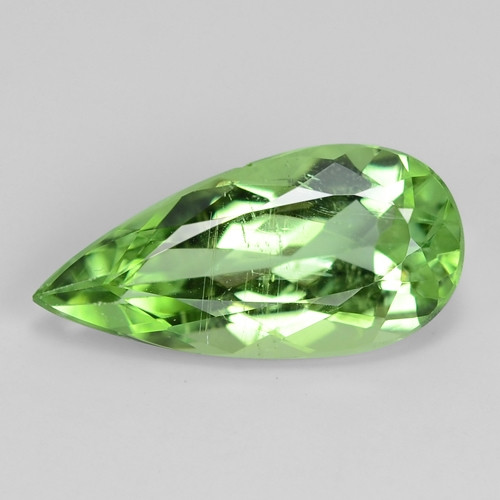 2.11 Cts GIL Certified Green Colour Natural