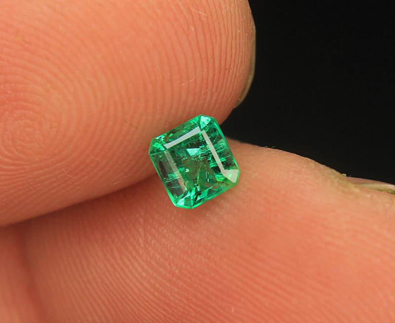 Natural Precious Panjshir Emerald Top Luster Cut Gemstone