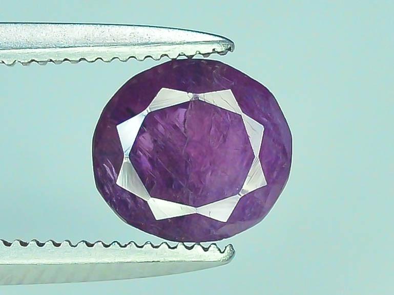 Untreated 1.20 ct Pink Corundum Kashmir Sapphire
