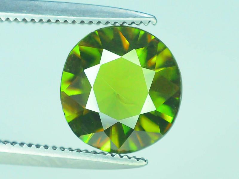 AAA Color 1.10 ct Chrome Sphene from Himalayan Range Skardu Pakistan