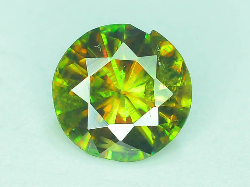 AAA Color 0.70 ct Chrome Sphene from Himalayan Range Skardu Pakistan