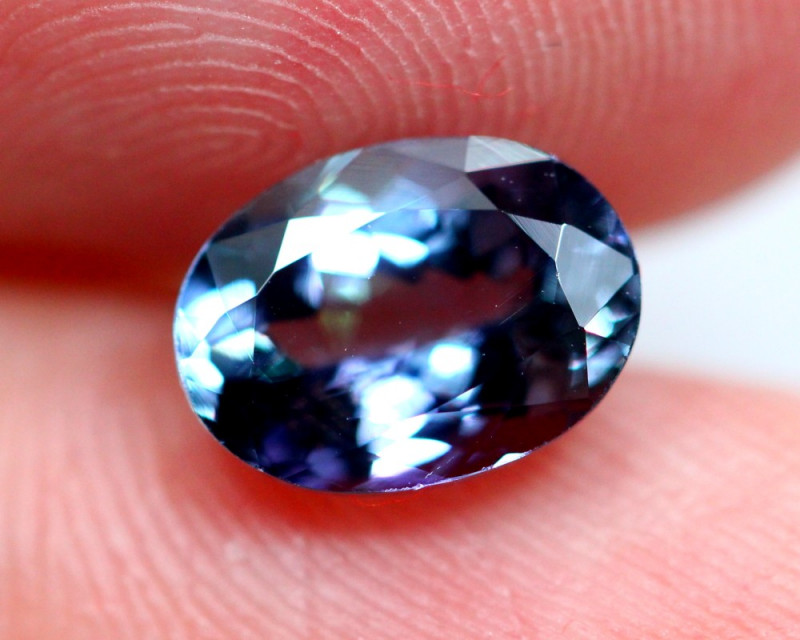 1.68cts Violet Blue D Block Tanzanite / BIN216
