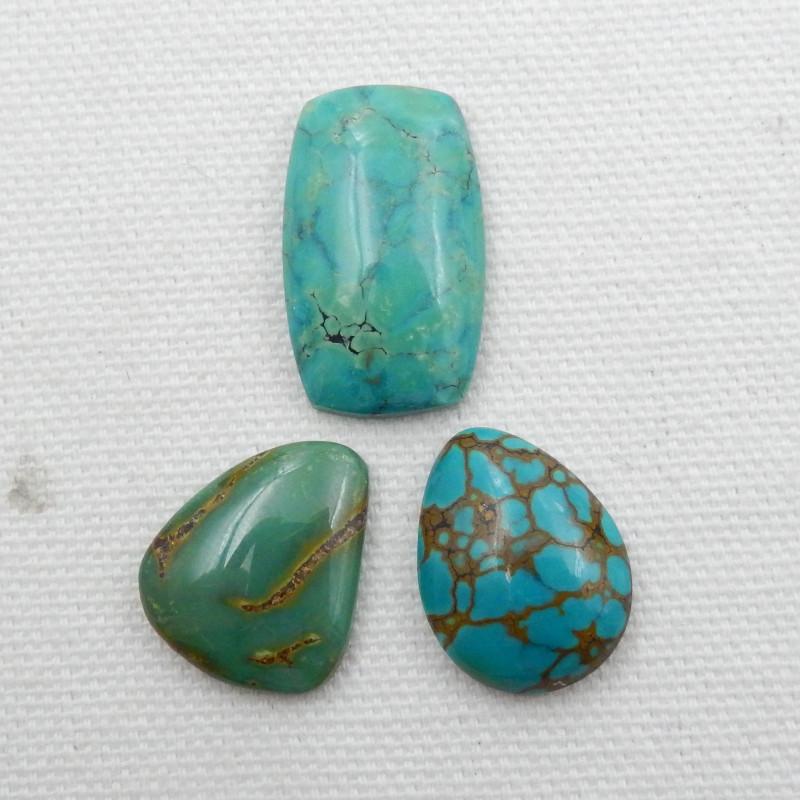 Beautiful Turquoise ,Handmade Gemstone ,Turquoise Cabochons ,Lucky Stone E3