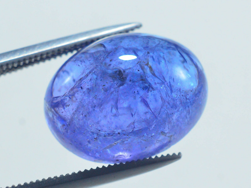 AAA Color 10.65 ct Tanzanite Cab eye catching Color~AS