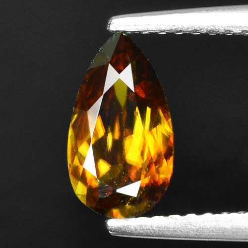 Mind Blowing Fire 1.13 Cts Chrome Sphene ~ SP38