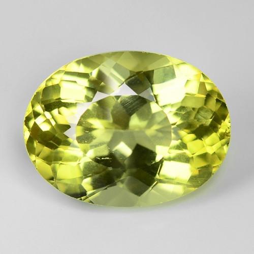 4.29 Cts Greenish Yellow Color Natural Torurmaline Gemstone