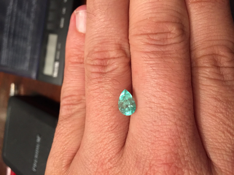 1,67ct  Colombian Natural Emerald Ref 23/43 Colombian Emeralds Colombian Em
