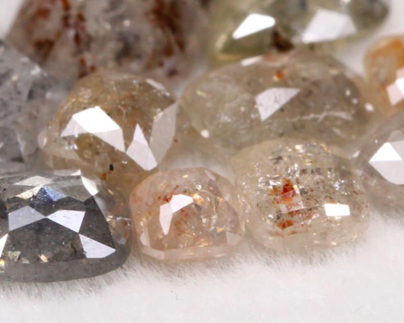 4.14Ct Natural Fancy Salt and Pepper Diamond Lot BM223