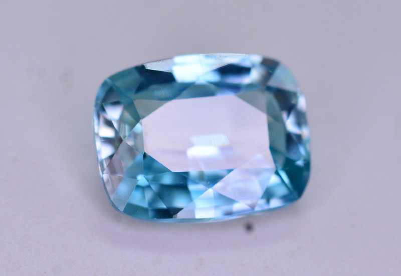 Top Blue ~2.20  Ct Natural Zircon From Cambodia